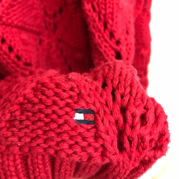 3294ff5430 Tommy Hilfiger Women s Red Knit Sweater M. M 5a56ec7afcdc312034004ae2